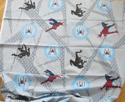 """Cotton Fabric SPIDERMAN 3 THE MOVIE 2007 Marvel 44""""W by 3 Yds  NEW"""
