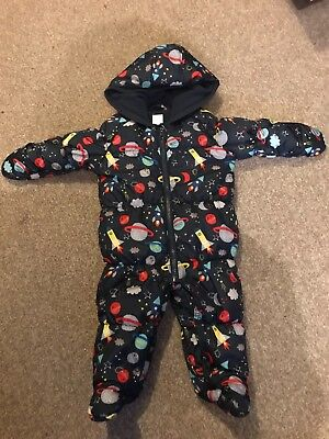 Baby boys Snowsuit size 6-9 Months by Blue Zoo (Debenhams) Excellent Condition.