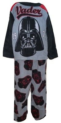 Star-Wars Boys 2 Piece Long Sleeve Black And Gray Pajama Set Size 4