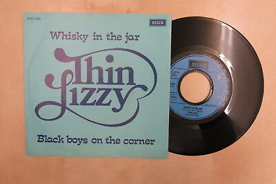"""THIN LIZZY Whisky In The Jar Original Dutch 7"""" in picture sleeve Decca 1973"""