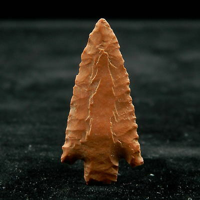 Saharian NEOLITHIC - Jasper ARROWHEAD - 29.7 mm LONG