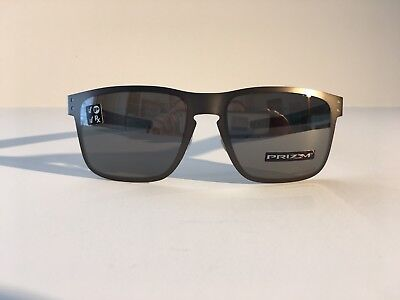 553e2941d5 Oakley Holbrook Metal Gunmetal Prizm Black Polarized Sunglasses OO4123-0655