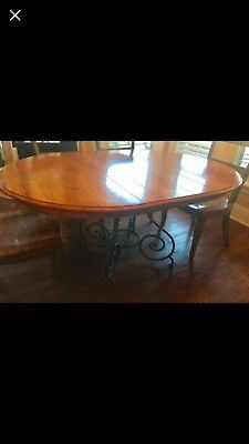 Ethan Allen Brittany Dining Table Round With Leaf