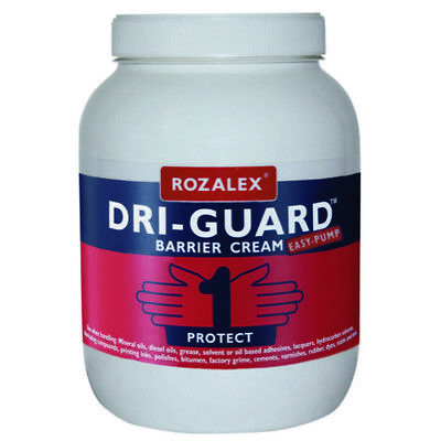 ROZALEX Dri-Guard Barrier Cream 3 litre - protects against oils and solvents !