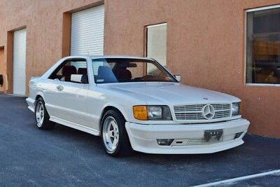1985 Mercedes-Benz 500-Series AMG 500SEC 1 Owner / ONLY 10k Miles /  Original Paint  AMG MINT!! Like NEW in every way