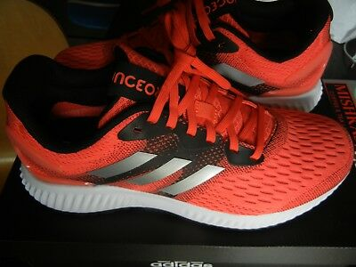 newest 40f1b 9ab92 Adidas Aerobounce Size 8.5 Womens Running Shoes Neon Coral Pink BW0295 ...