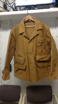 Vintage 1940's canvas hunting jacket by REDHEAD sz 48 fine condition