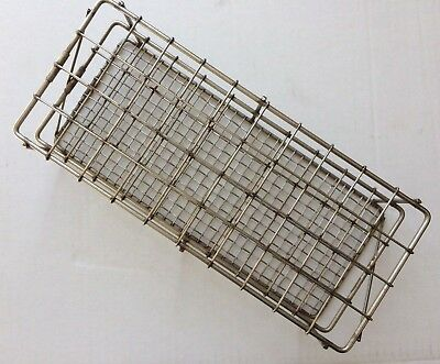 Stainless Steel Test Tube Rack, 40 position, 20 mm, Autoclavable Lab Rack