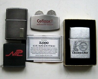 Vintage Zippo Advertising Collection -Lighter,ruler,flashlight,golf Divot Tool*