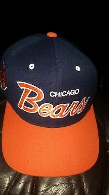 Chicago Bears Vintage NFL Mitchell & Ness Snapback Cap Mint w/o Tags