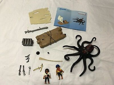 Playmobil 4291 Piratenfloß mit Riesenkrake