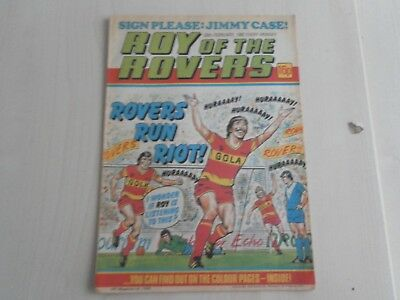 1982 Roy of the Rovers magazine signed by Jimmy Case Liverpool Football Club