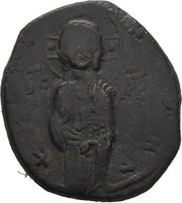 Lanz Byzantine Empire Anonymous Follis Michael Iv Class C Christ Bronze §teg70