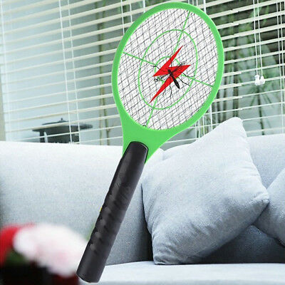 Mosquito Killer Electric Tennis Bat Handheld Racket Insect Fly Bug Wasp Swatter