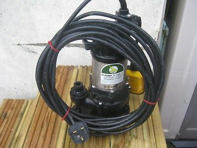 JS 150 SV AUTOMATIC, SUBMERSIBLE VORTEX PUMP. (Number 2 of 4 listed)