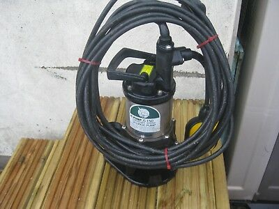 JS 150 SV AUTOMATIC, SUBMERSIBLE VORTEX PUMP. POSSIBLE POND PUMP?   (No 3 of 4)
