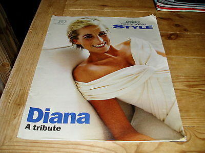 SUNDAY TIMES STYLE 7 Sept 1997 MAGAZINE A TRIBUTE TO DIANA