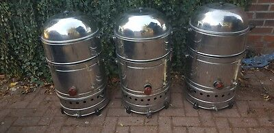 3 mexican corn steamer .Electric and LPG gas