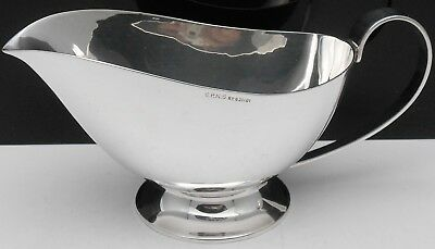 Vintage 1938 Art Deco Gravy / Sauce Boat - Silver Plated - Epns