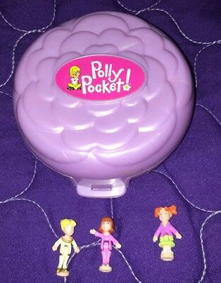2000 Reproduction Of 1993 Polly Pocket Ballet Star With Dolls Mattel/bluebird