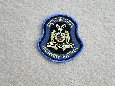 Missouri State Highway Patrol Shoulder Patch NEW full size