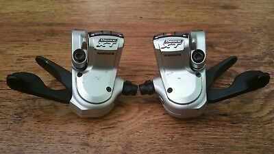 Shimano Deore XT M770 9 Speed Triple Shifter Set