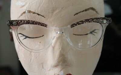Vintage 1950's Lucite Glasses / Spectacles