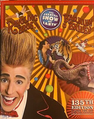 Ringling Bros & Barnum & Bailey Circus Program-135th Edition