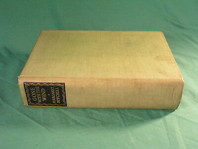 Gone With The Wind By Margaret Mitchell 1940 HB