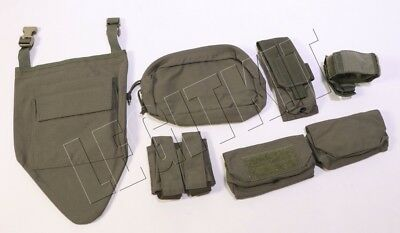 SEVEN (7x) Assorted Eagle Industries RLCS Pouches MOLLE Ranger Green SWCC NSW