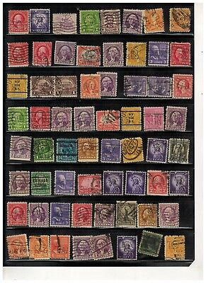 Lot of United States & Finland Old Stamps Used