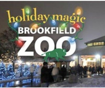 Brookfield Zoo (6) Tickets. Expire 12/31/2018 Chicago, IL