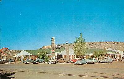 Howard's Cafe Rock Springs WY Wyoming Chrome Postcard 1950s Cars Roadside