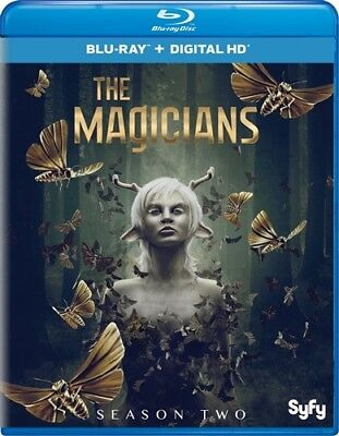 THE MAGICIANS TV SERIES COMPLETE SEASON TWO 2 New Sealed Blu-ray