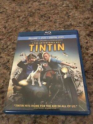 The Adventures of Tintin [Two-Disc Blu-ray/DVD Combo + Digital Copy]