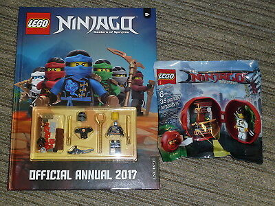 LEGO LOT NINJAGO MOVIE KAI'S DOJO MINI SET + Annual Book BRAND NEW 2 Mini Figure