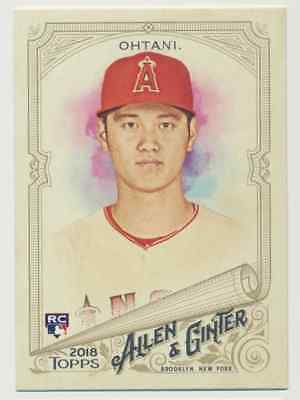 2018 Topps Allen & Ginter   Shohei Ohtani (RC) Los Angeles Angels