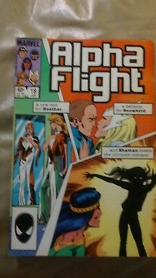 Alpha Flight # 18 1985 Marvel Comic X-men VF Condition!