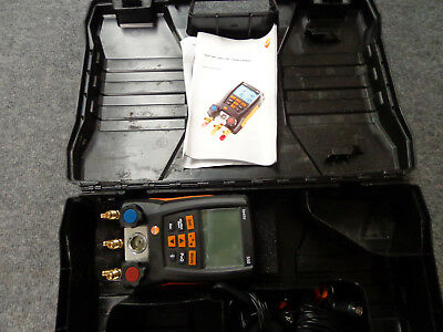 NICE! Testo 550 Digital HVAC Refrigeration Testing Kit FREE SHIPPING!