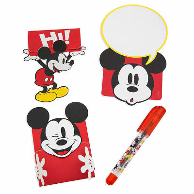 Disney Mickey Mouse Lunch Note Set Such A Cute Idea New