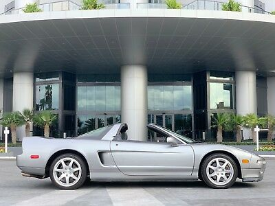 1999 Acura NSX Targa Open Top Manual Grey Only 19,706 Miles 1999 Acura NSX-T NSX Targa Open Top Manual Grey Only 19,706 Miles Collector Car