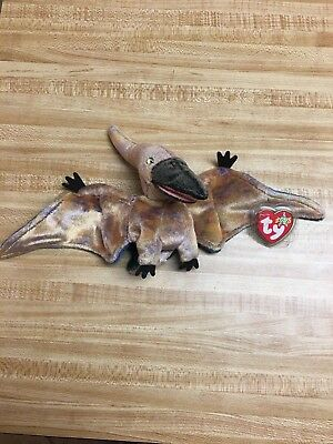 TY SWOOP THE PTERODACTYL BEANIE BABY - MINT with MINT TAGS -  4.95 ... 063bd3a7919