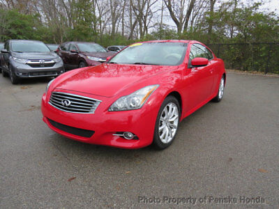 2013 INFINITI G37 Coupe 2dr Journey RWD 2dr Journey RWD Coupe Automatic Gasoline 3.7L V6 Cyl RED