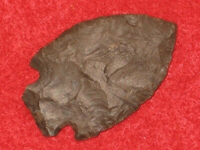 Authentic Native American artifact arrowhead Tennessee Benton point B3