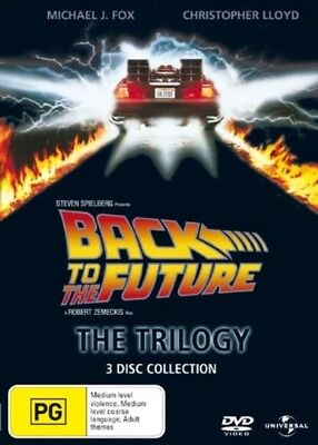 Back To The Future - The Trilogy, DVD