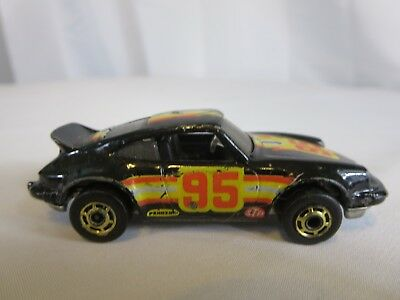 Hot Wheels Black Porsche P-911 1974 Loose