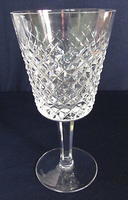 Vintage Waterford Crystal Alana 10 Oz Water Goblet, Marked NICE