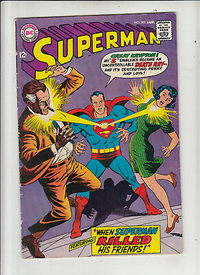 Superman #203 (DC 1968) VG/Fine