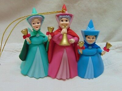 Disney's Sleeping Beauty Fairy Godmothers Ornament--Flora, Fauna, Merryweather