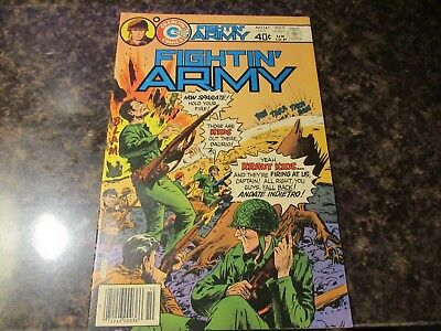 Fightin' Army #141 1979 Charlton Comics